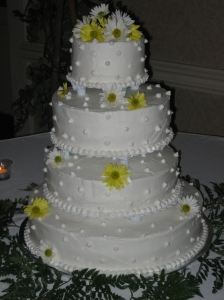 My friend's wedding cake